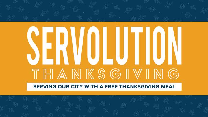 Servolution Thanksgiving: Neighborhood Canvassing logo image