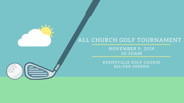 All Church Golf Tournament logo image