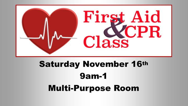 First Aid & CPR Class logo image