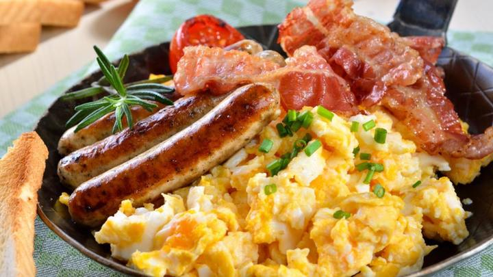 RSVP for Men's Breakfast Oct. 26 logo image