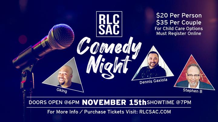 RLC COMEDY NIGHT! logo image