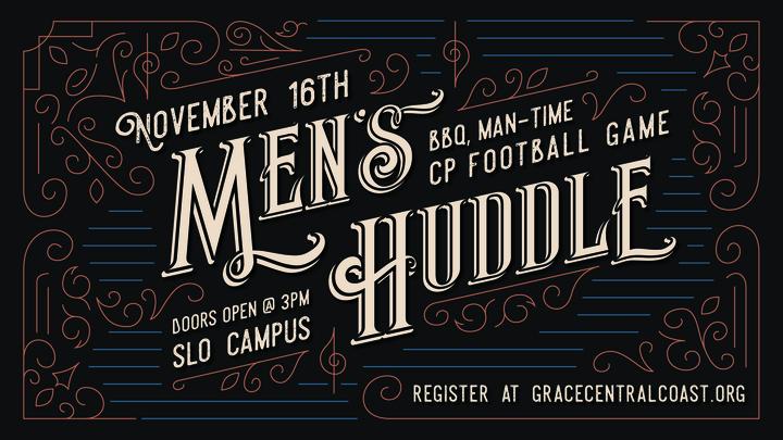 Men's Huddle November 2019 logo image