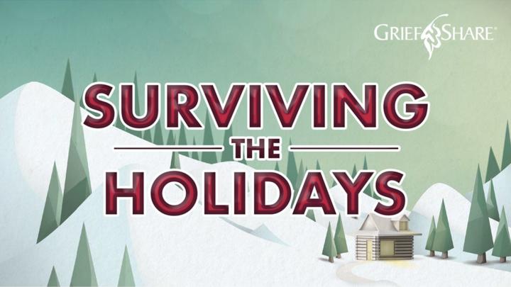 Surviving the Holidays Seminar // GriefShare logo image