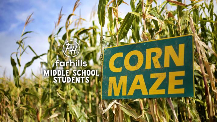 Middle School Students Corn Maze logo image