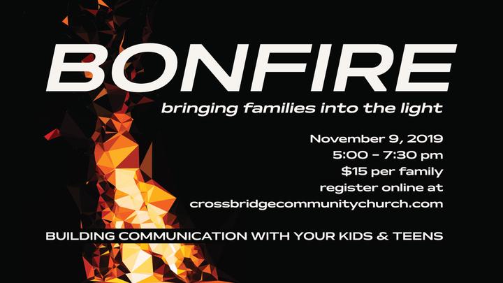 Bonfire - bringing families into the light logo image