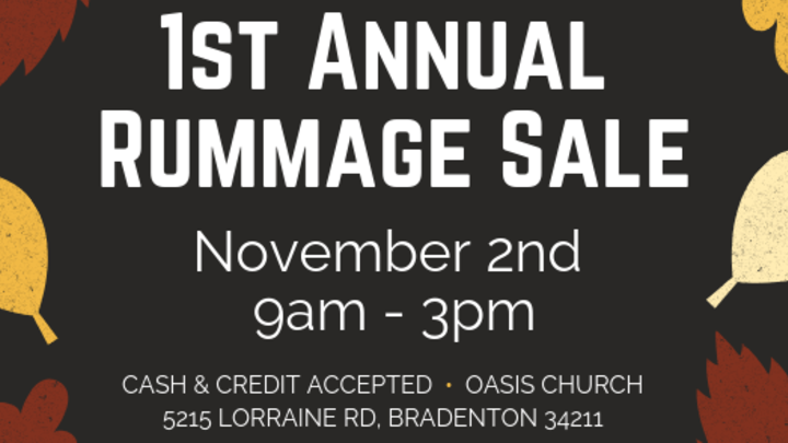 Anchored Youth Rummage Sale  logo image