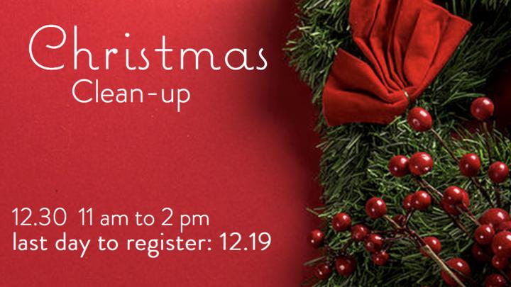 JOY: Christmas Clean Up logo image