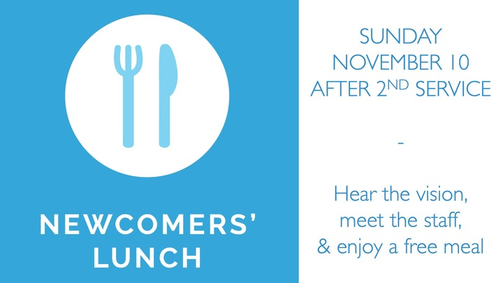 Newcomers' Lunch logo image