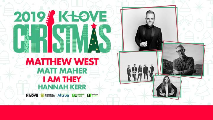 VOLUNTEER SIGNUP: K-Love Christmas Concert logo image