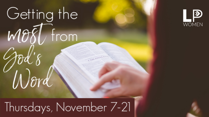 Women: Getting the Most From God's Word logo image