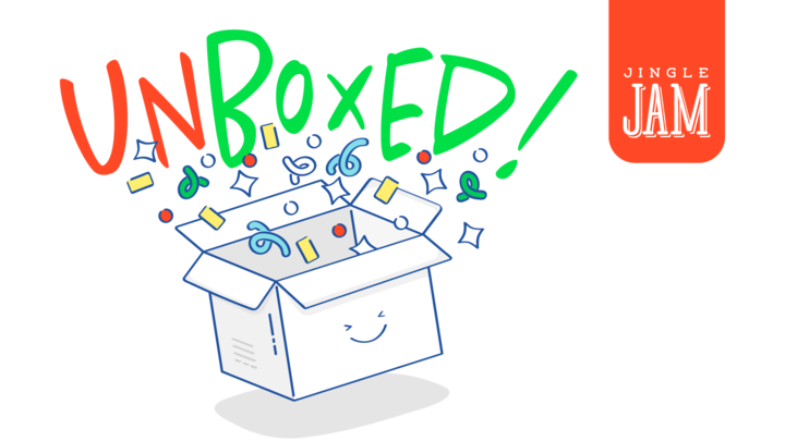 Jingle Jam: Unboxed! logo image