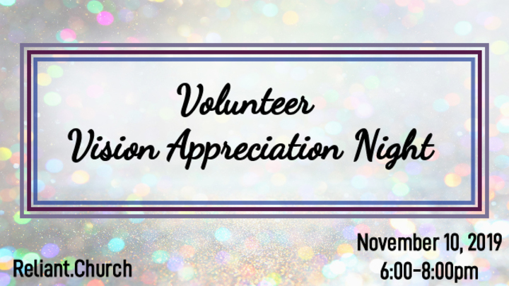 Volunteer Vision Appreciation Night logo image