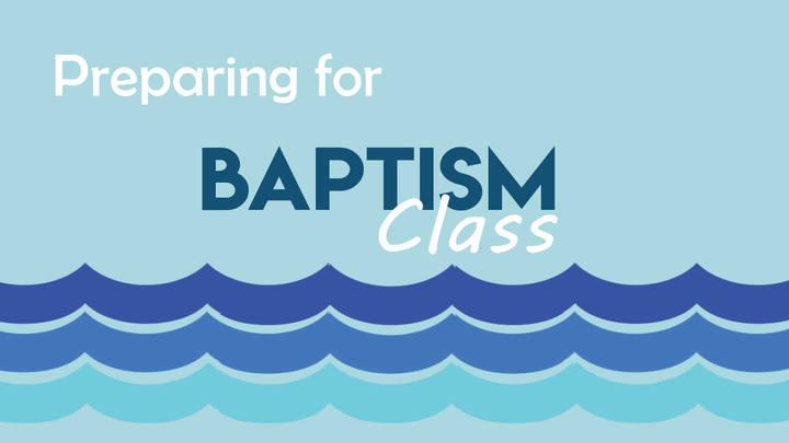 Preparing for Baptism Class logo image
