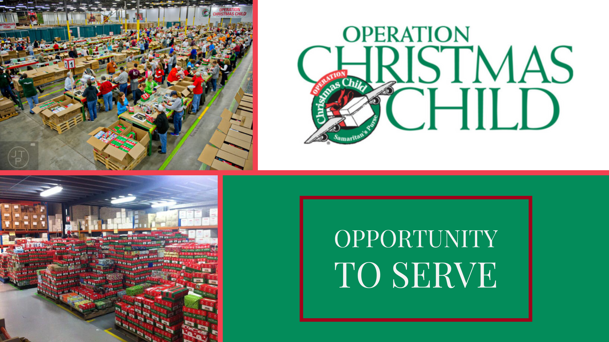 Operation Christmas Child 2019 List.Operation Christmas Child Processing Center Echo Lake