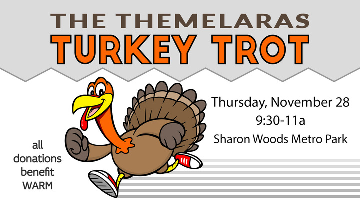 5th Annual Themelaras Turkey Trot logo image