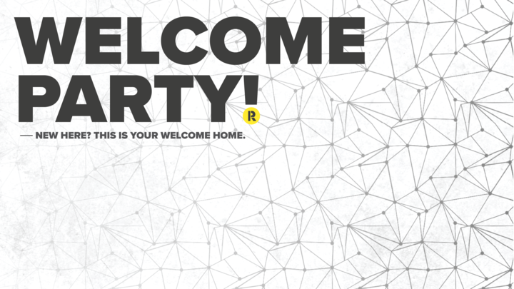 The Welcome Party logo image