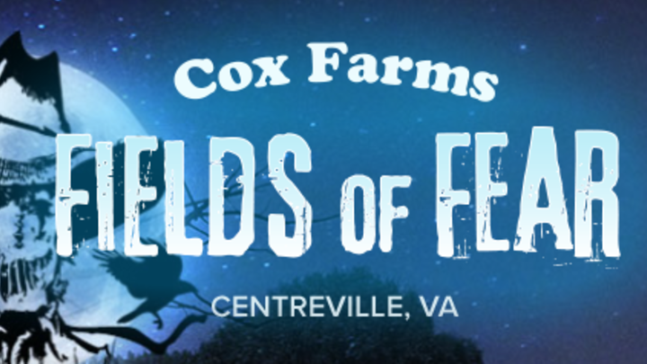 Cox Farm Fields of Fear logo image