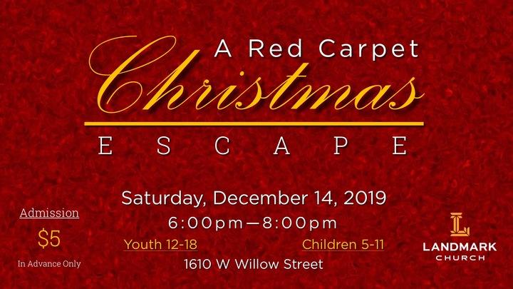 A Red Carpet Christmas Escape logo image