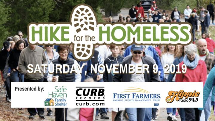 Hike For The Homeless  logo image