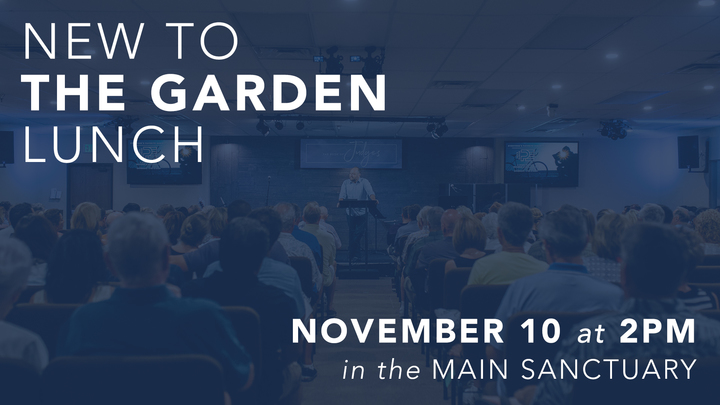 New to The Garden Luncheon logo image