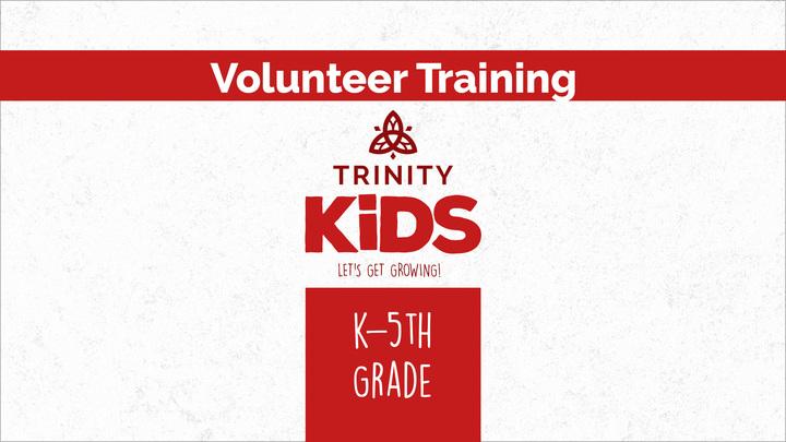 Oceanfront Trinity Kids K-5 Volunteer Training logo image