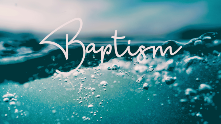 Baptism Service logo image