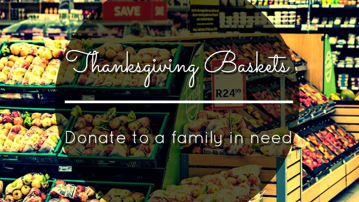 Thanksgiving Baskets - Food Pantry Ministry Opportunity logo image