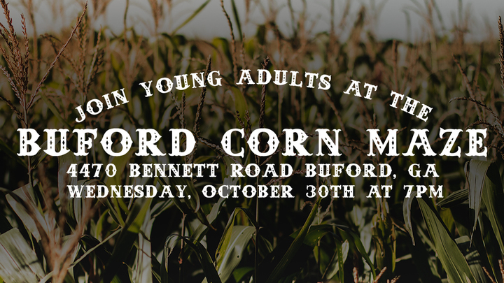 Young Adults Corn Maze Event! logo image