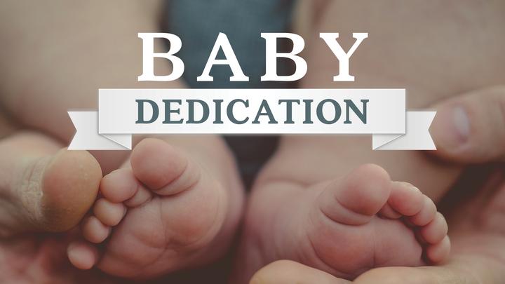 Baby Dedication logo image