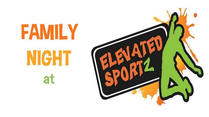 Family Night at Elevated Sportz logo image