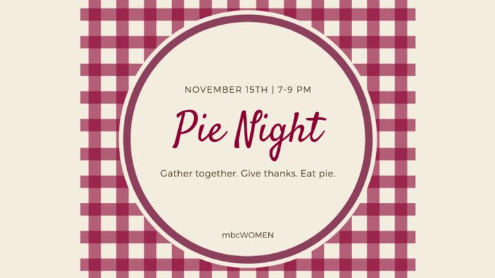 Pie Night logo image