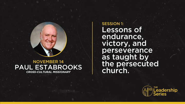 THE LEADERSHIP SERIES: Session 1   Paul Estabrooks logo image