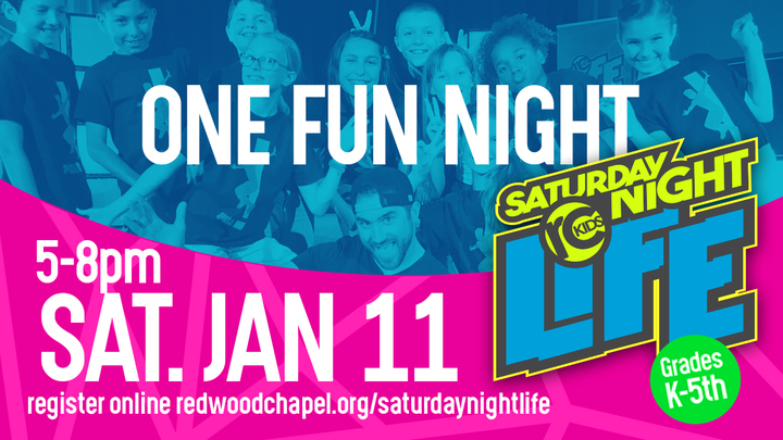 Saturday Night Life Volunteer Registration logo image