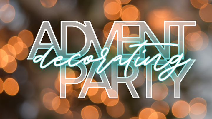 Advent Decorating Party logo image