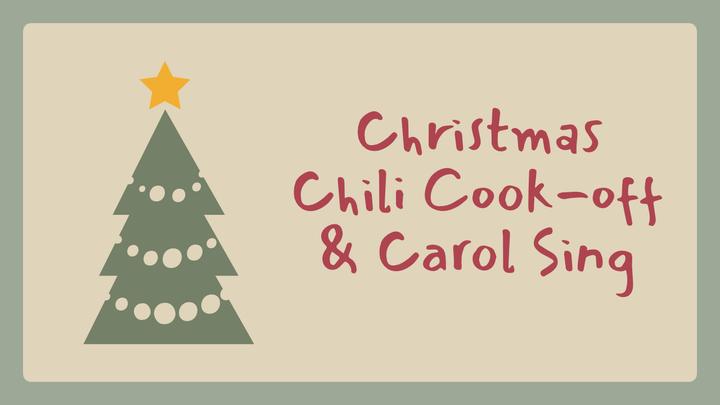 Christmas Chili Cook-off and Carols Sing 2019 logo image