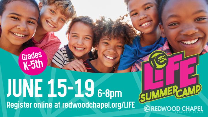 Life Summer Camp Volunteer Registration logo image