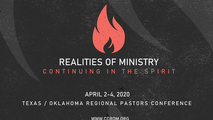 2020 Realities of Ministry Pastors & Leaders Conference logo image