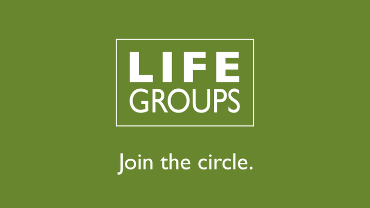 Connect Sundays - Join a Life Group logo image