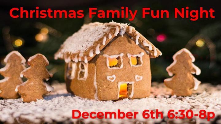 Christmas Family Fun Night logo image