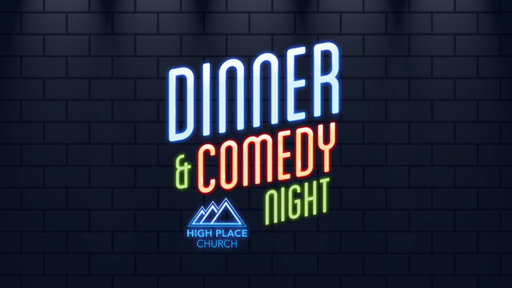 Dinner and Comedy Night logo image