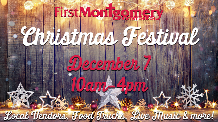 Christmas Festival Vendor Registration logo image