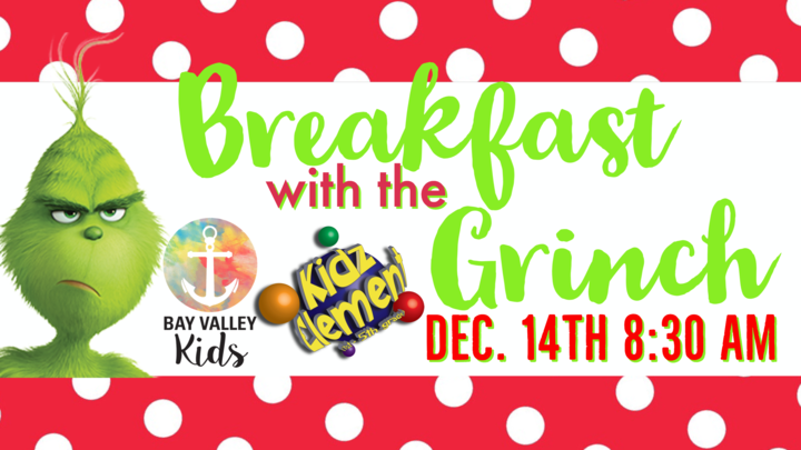 Breakfast with the GRINCH logo image