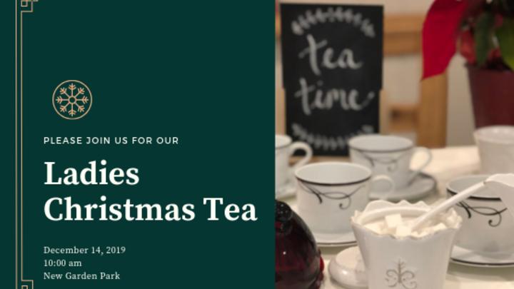 Ladies Christmas Tea 2019 logo image