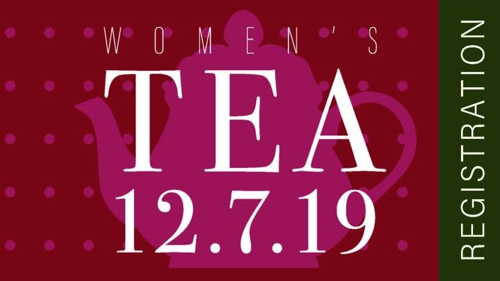 Women's Ministry Annual Christmas Tea logo image