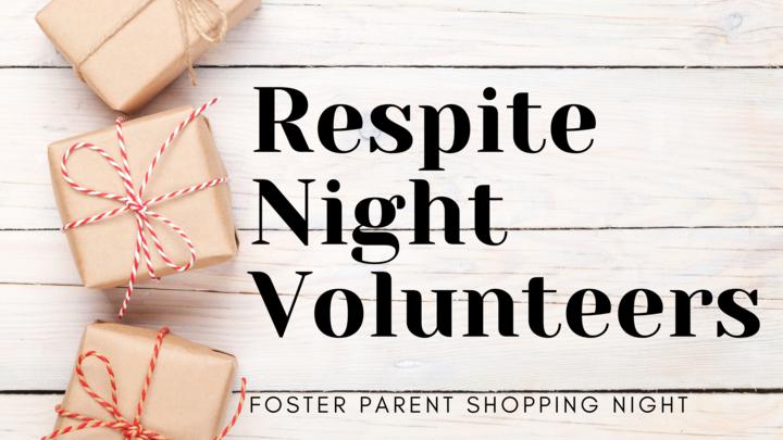 Respite Night Volunteer Sign-up (Foster Parent Shopping Night) logo image