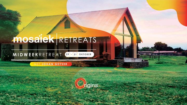 Midweek Retreat met Johan Geyser logo image