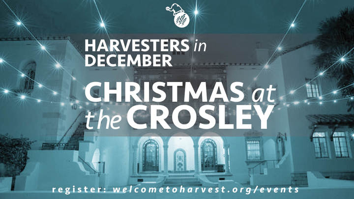 Harvesters Christmas at the Crosley logo image