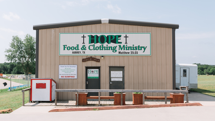 Hope Food and Clothing Ministry (11/09) logo image