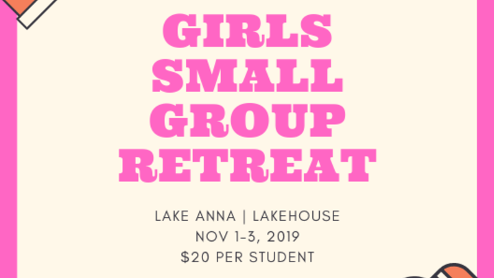 Girls Small Group Retreat logo image