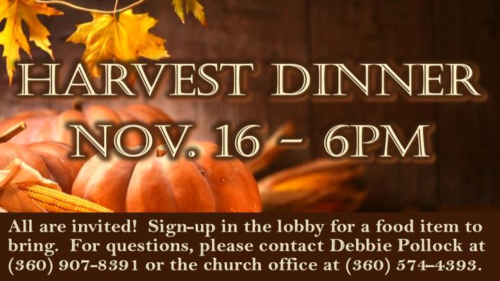 Harvest Dinner logo image